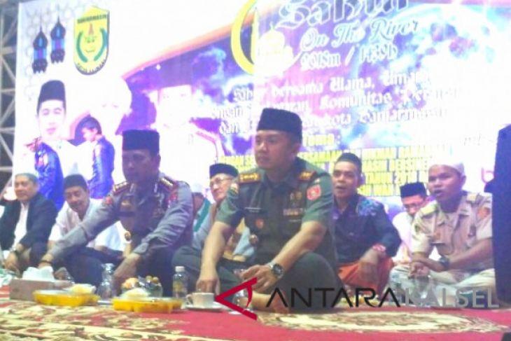 Masyarakat Banjarmasin antusias hadiri kegiatan sahur bareng di acara