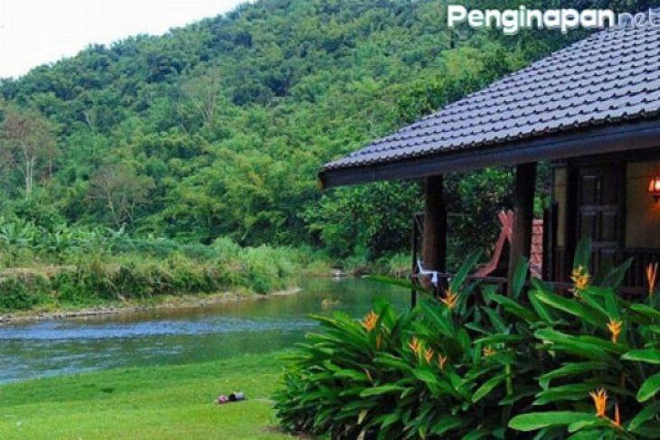 Vila Tanuhi Loksado Kalsel tertutup bagi pengunjung