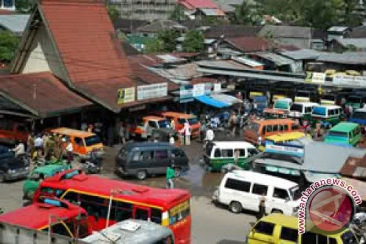 Terminal km-6 banjarmasin berangkatkan 25 bus akap