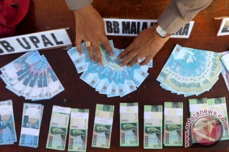 Temuan uang palsu di Malang meningkat