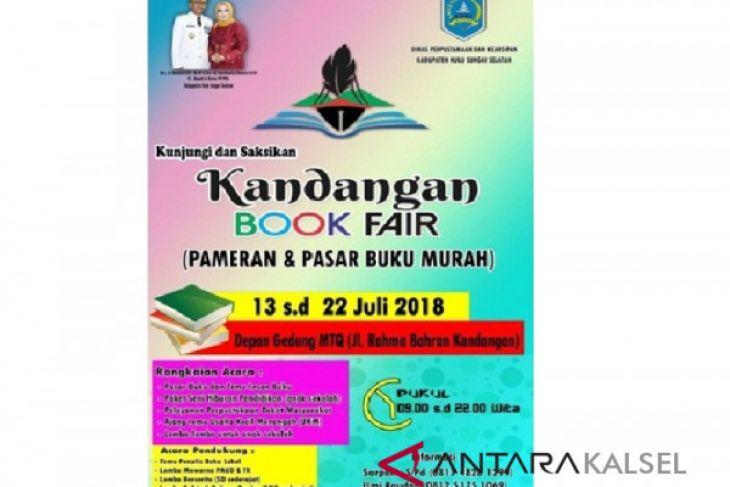 Kandangan Book Fair digelar pertengahan bulan Juli 2018