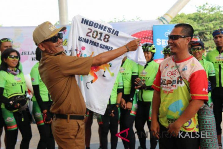 Dahnial Kifli sambut Tim Jelajah Sepeda Nusantara