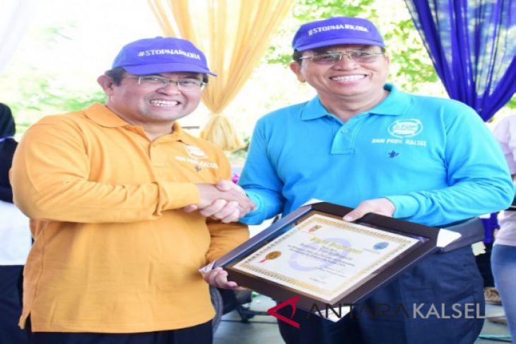 ULM raih penghargaan P4GN dari BNNP Kalsel