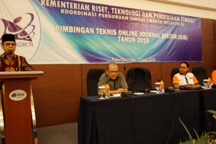 Kopertis XI tingkatkan kemampuan OJS dosen PTS se Kalimantan