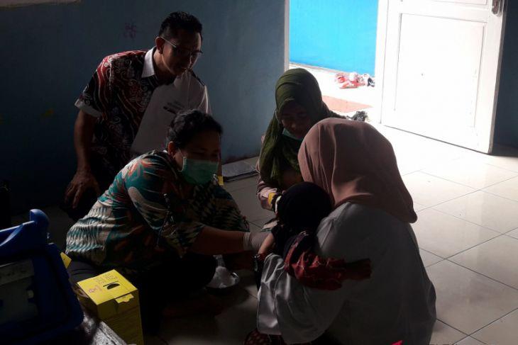 MR Immunization in Banjarmasin continues
