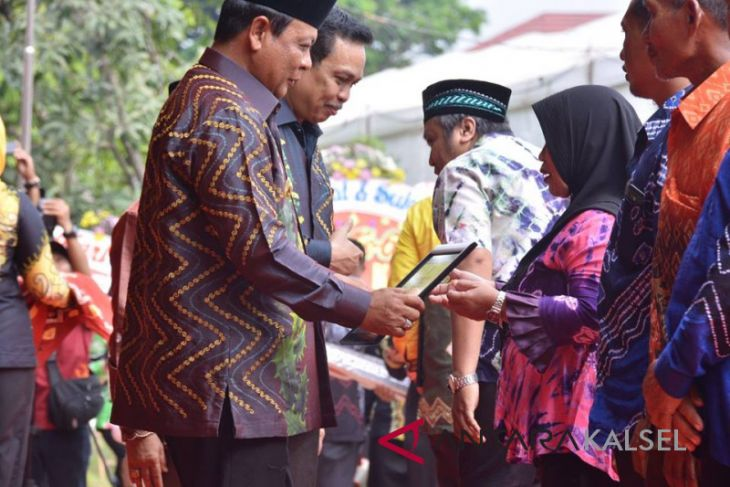 Muning Baru dan Kandangan Utara raih penghargaan Gubernur Kalsel
