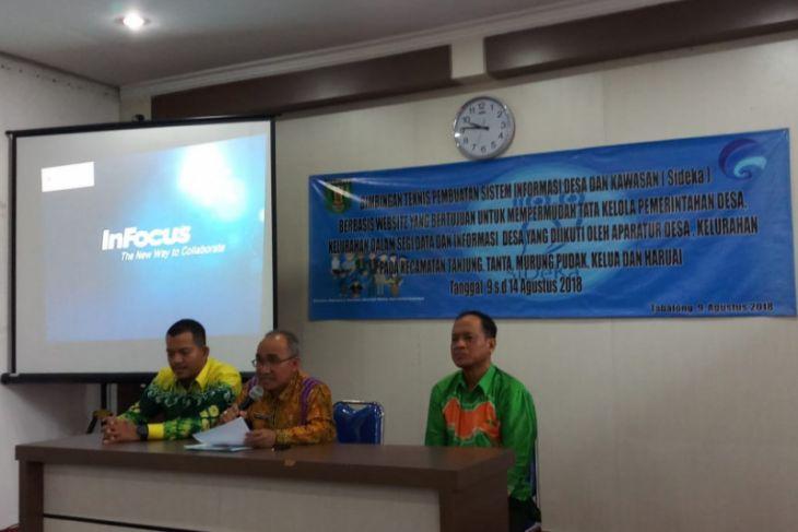 Aparat Desa Ikuti Bimtek Pembuatan Sistem Informasi