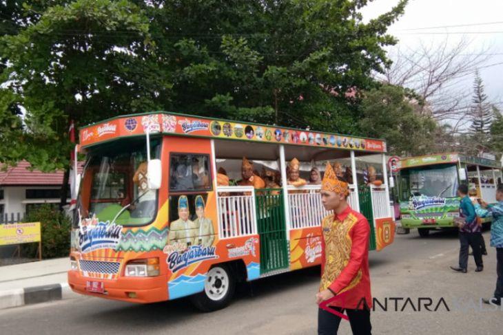 Bus Wisata Banjarbaru Disukai Masyarakat Antara News Kalimantan
