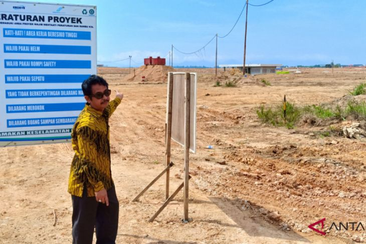 Banjarbaru Court conducts a trial at airport project dispute land