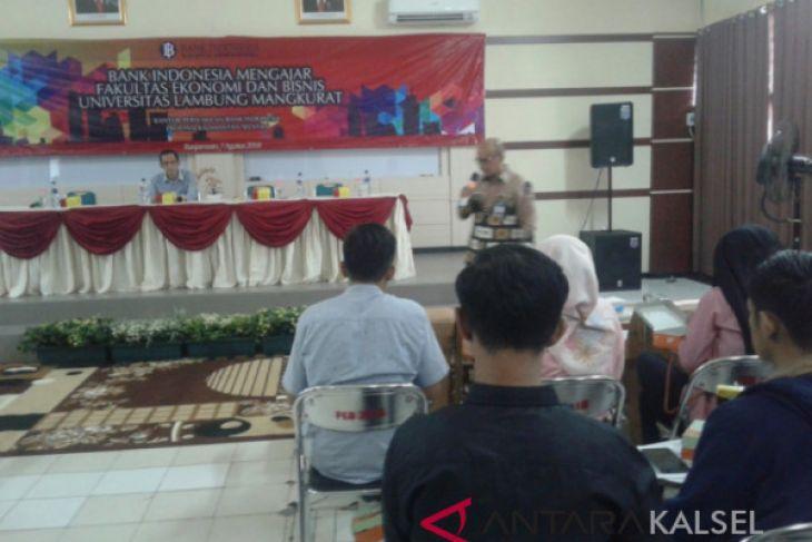 Bank Indonesia Mengajar di Universitas Lambung Mangkurat