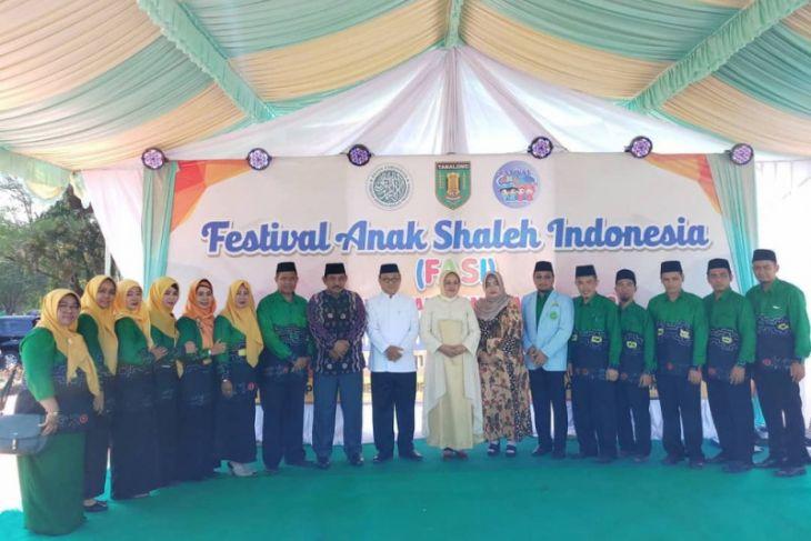 770 santri Tabalong meriahkan festival anak shaleh
