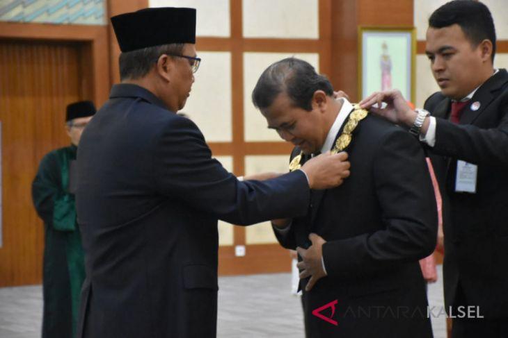 Dilantik Menristekdikti, Prof Sutarto Hadi resmi jabat Rektor ULM periode 2018-2022