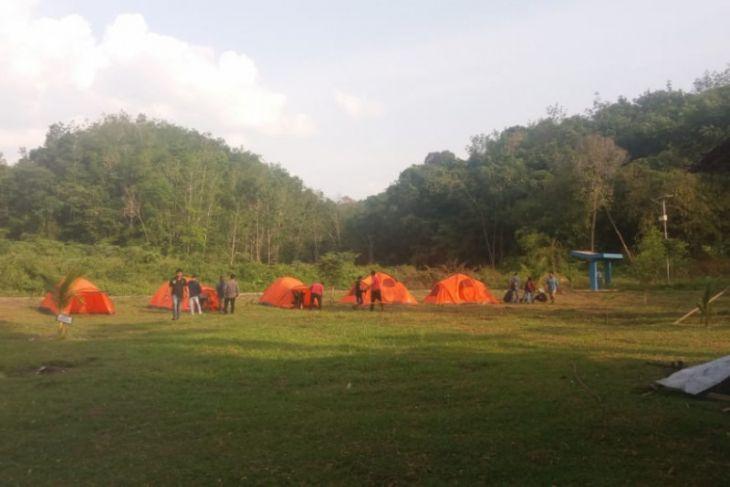 Wisata Kinarum Tabalong miliki  fasilitas berkemah