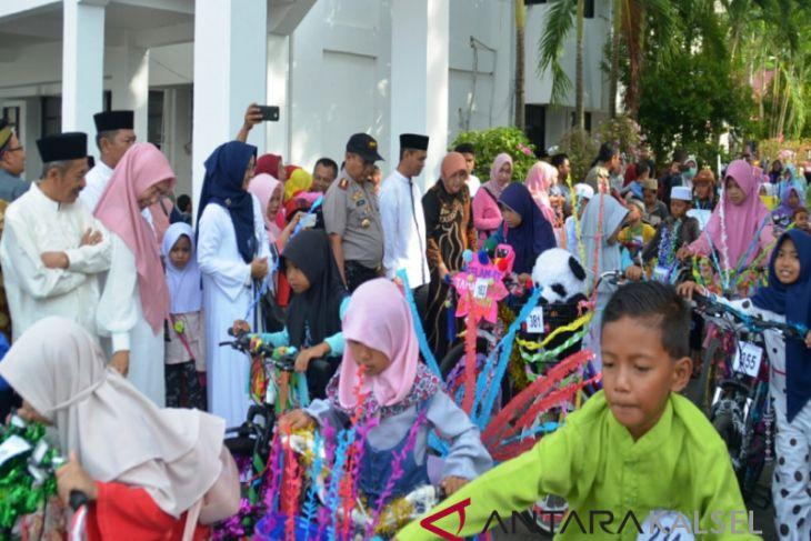 Sepeda hias dan mewarna semarakan tahun baru Islam