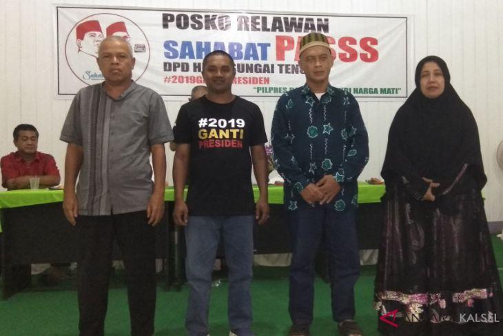 Relawan Sahabat PASSS HST terbentuk dan siap memenangkan Prabowo-Sandi