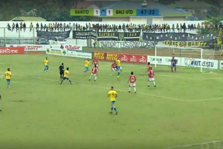 Barito Putra ditahan Bali United 1-1