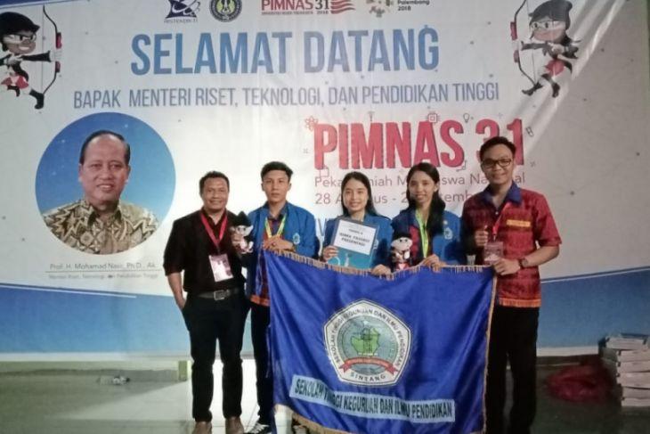 STKIP Persada Khatulistiwa Sintang juara favorit PIMNAS ke 31