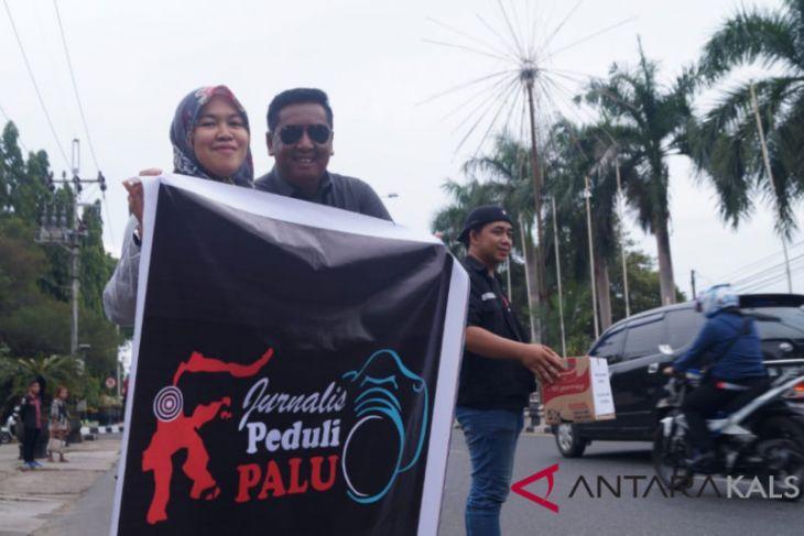 Jurnalis Banjarbaru galang bantuan korban gempa Palu