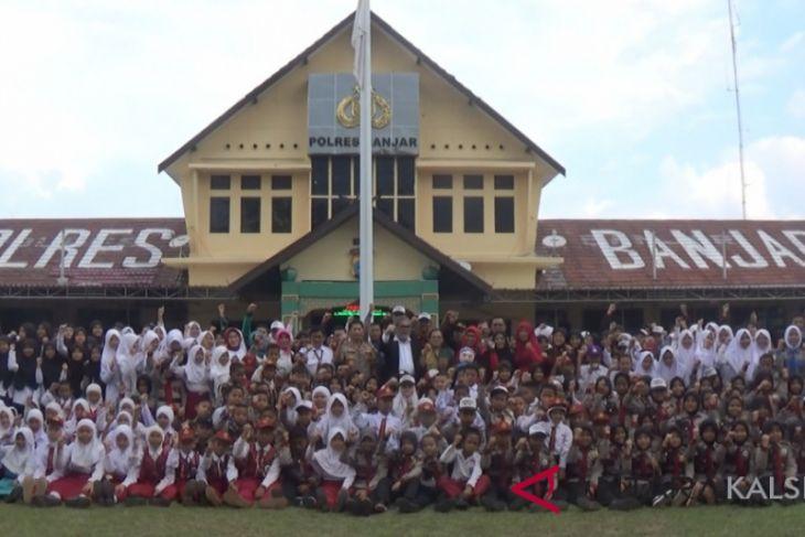 KPAI Apresiasi Polres Banjar ramah anak