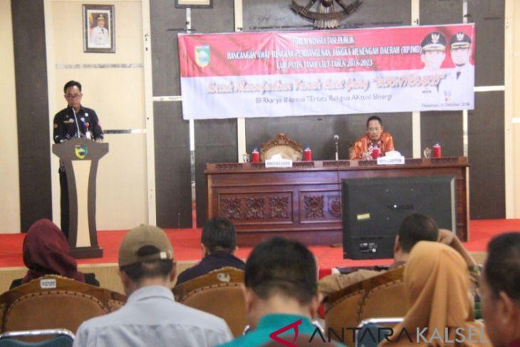 Pemkab gelar forum konsultasi publik penyusunan RPJMD