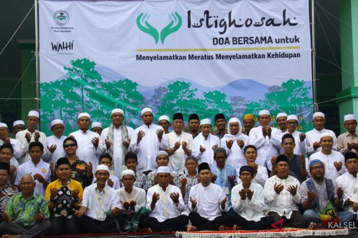 Jelang sidang putusan, masyarakat HST istighosah selamatkan meratus