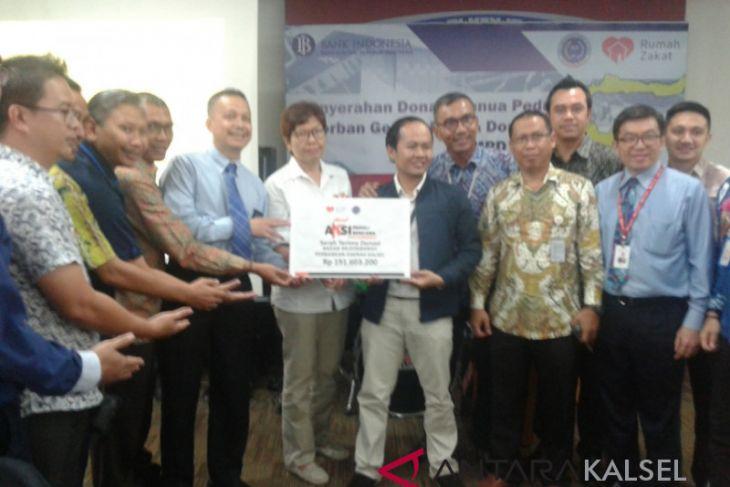 BMPD Kalsel serahkan bantuan gempa Palu-Donggala