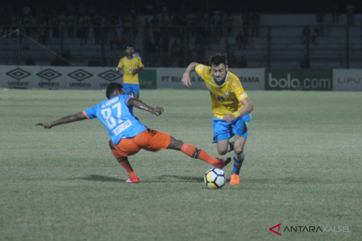 Barito Putera ditahan imbang tanpa gol Perseru