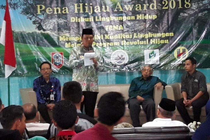 Gubernur Kalsel raih Anugerah Pena HIjau Award 2018