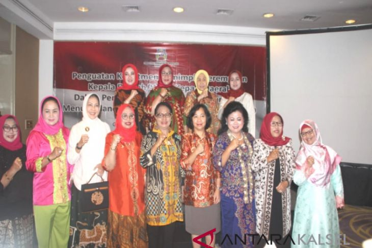 Bupati Batola hadiri forum perempuan kepala daerah