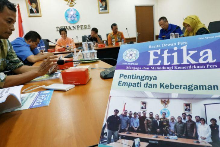 Dewan Pers berharap swasta memfasilitasi pelatihan sektoral