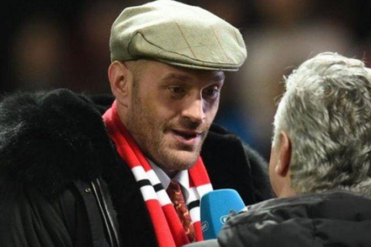 Tyson Fury inginkan pertarungan ulang di Old Trafford