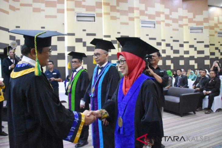 Tambah tiga guru besar, ULM miliki 43 profesor