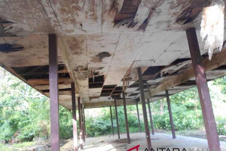 Objek Wisata Air Terjun Bajuin Terkesan Terlantar Antara News Kalimantan Selatan