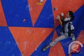 PANJAT TEBING- Atlet Kaltim raih emas Kejuaraan di Cina