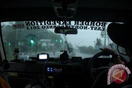 Rombongan Tim Offroad Kalimantan Berhenti di Kuching