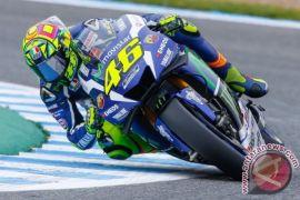 Pemulihan Cedera Patah Kaki, Rossi Absen di MotoGP Misano