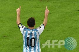 Tanpa Messi, Argentina kalahkan Italia 2-0