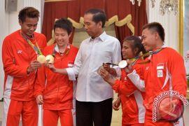 Presiden Bertemu Peraih Medali Olimpiade Rio