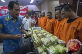 Sindikat narkoba internasional alihkan operasi ke Kalimantan