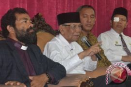Wapres Pimpin Upacara Pemakaman Hasyim Muzadi