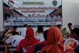KPU Penajam sosialisasikan Pemilu di sekolah