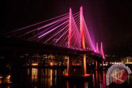 Jembatan Mahkota II Samarinda Diresmikan Januari 2018