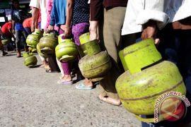 Harga elpiji melon di Penajam melonjak Rp30.000/tabung