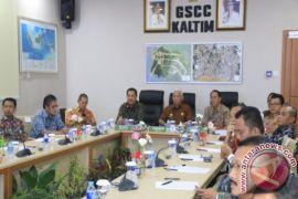 Gubernur Kaltim Resmikan Geospatial Suppport Command Center