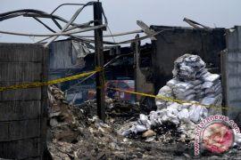 Polisi Periksa Tujuh Saksi Kebakaran Gudang Petasan
