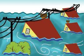 Pendamping Desa Evakuasi Korban Banjir Mahakam Ulu