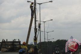 Penggantian Lampu PJU Penajam Ditargetkan Rampung Dua Pekan