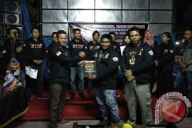 BNNK Samarinda Bekali Komunitas Bikers Materi Bahaya Narkoba