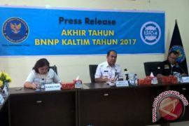 BNNP Kaltim Tangani 89 Kasus Narkoba
