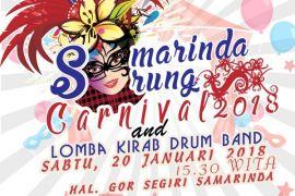 Sarung Carnival Meriahkan HUT ke-350 Kota Samarinda